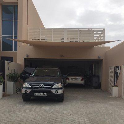 Car Parking Shade Dubai